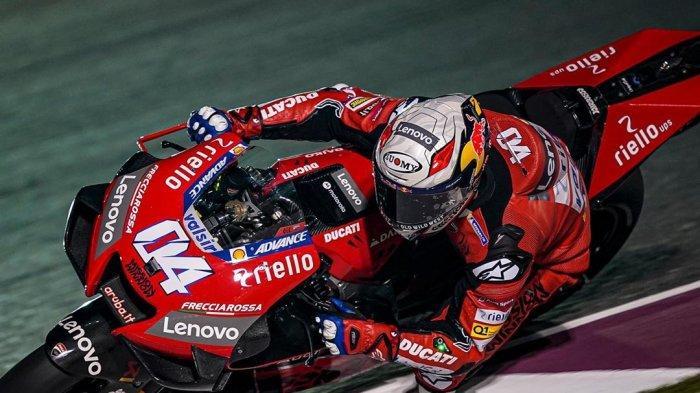 Andrea Dovizioso rider andalan Ducati