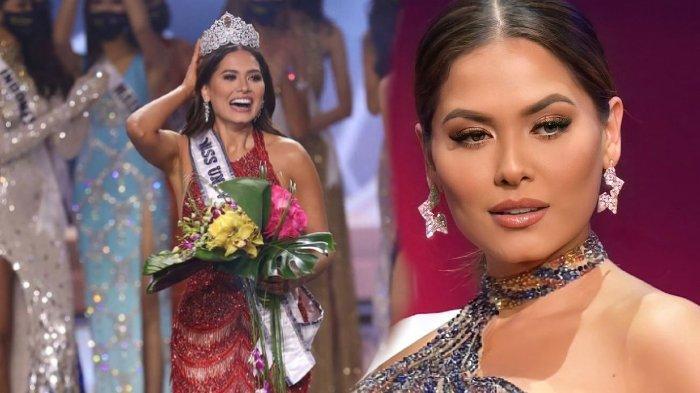 Andrea Meza, pemenang Miss Universe 2020 dari Meksiko.