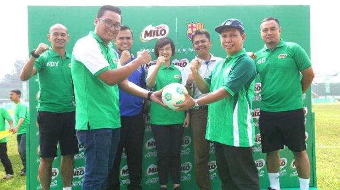 Babak Final Regional MILO Football Championship Medan dan Bandung Dimulai