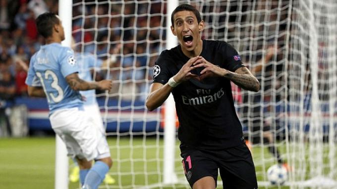 Angel di Maria Masih Kesal Ditahan 2-2 Manchester City