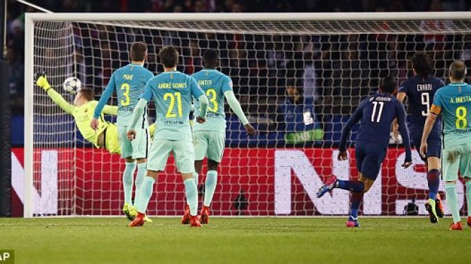 Video Gol-gol PSG vs Barcelona 4-0