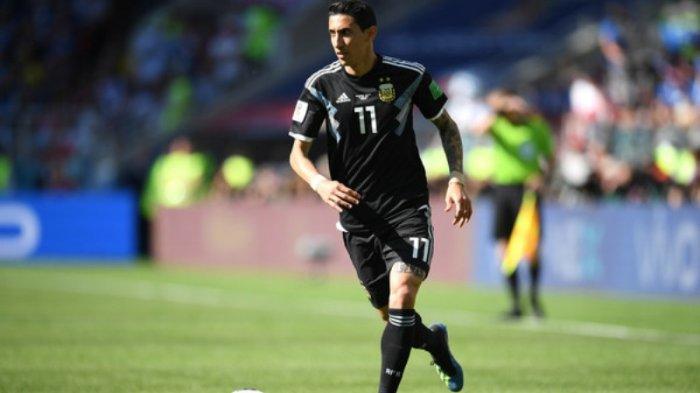 Argentina vs Kroasia: Angel Di Maria Jadi Cadangan di Timnas Argentina