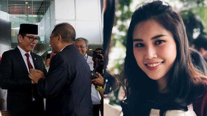Sempat Diisukan Jadi Wamen Nadiem Makarim, Anak Bos MNC TV Angela Tanoesoedibjo Dampingi Wishnutama