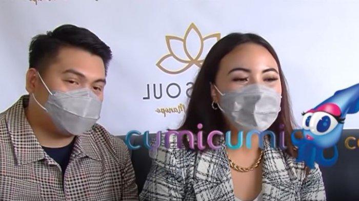 Angelica Manopo saat ditemui oleh awak media