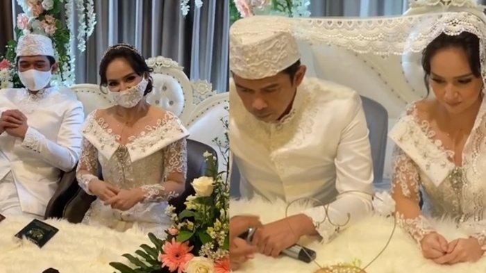 Sejak Awal Tahun Terus Berdoa Minta Jodoh, Tak Lama Angelica Simperler Dinikahi Rico Hidros Daeng