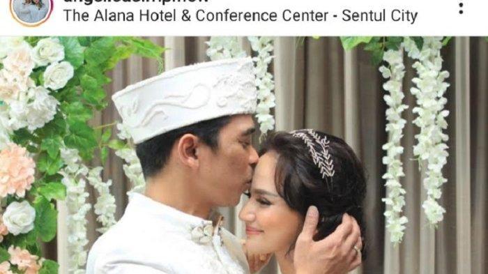 Bintang film dan Film Televisi (FTV) Angelica Simperler dan Ai Rico Hidros Daeng resmi menyandang status suami istri, pada 20 Juni 2020.
