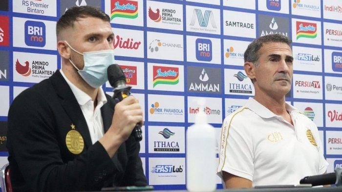 Persija Jakarta Baru Lakoni Dua Pertandingan Kompetisi Masih Panjang kata Marko Simic