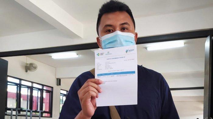 Angga Fasri Nur Sriyanto Tidur Belasan Jam Setelah Divaksin Covid-19, Begini Ceritanya