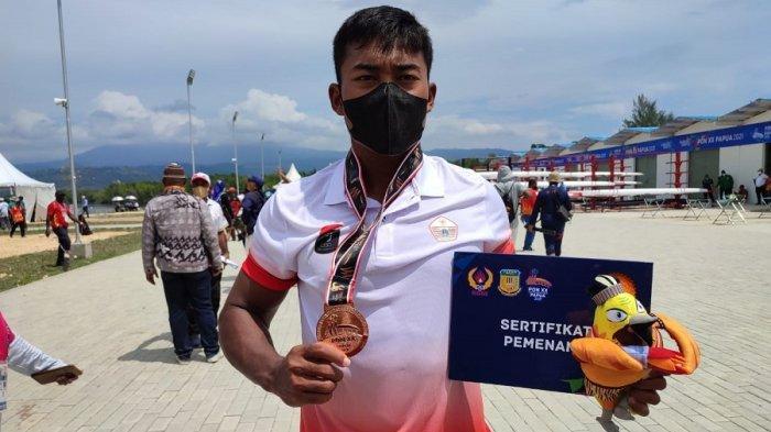 Angga Suwandi Putra Raih Perunggu Bagi Tim Dayung DKI Jakarta