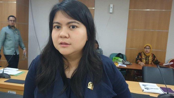 Anggota DPRD DKI Fraksi PDIP Ima Mahdiah saat ditemui di Gedung DPRD DKI, Kebon Sirih, Jakarta Pusat, Kamis (31/10/2019).