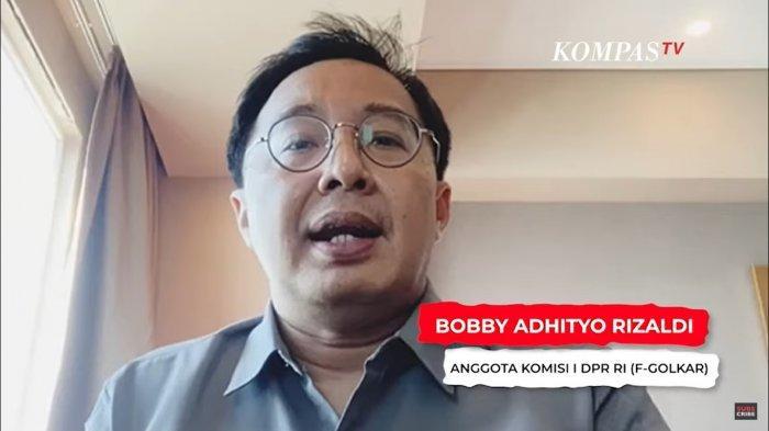 Anggota  Komisi 1 DPR RI Fraksi Partai Golkar Bobby Adhityo Rizaldi  ss