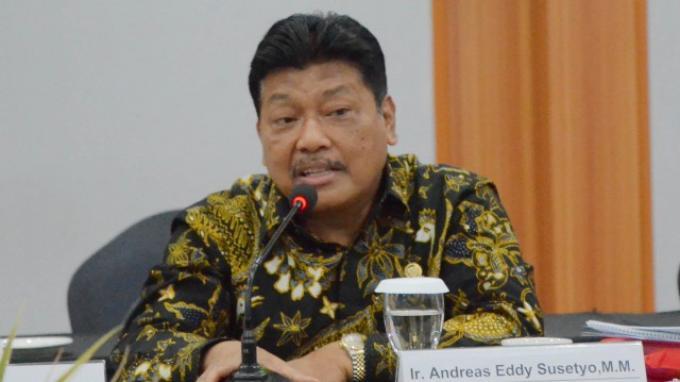 Anggota Komisi XI DPR Andreas Eddy Susetyo Minta Pemerintah Tagih Utang Lapindo