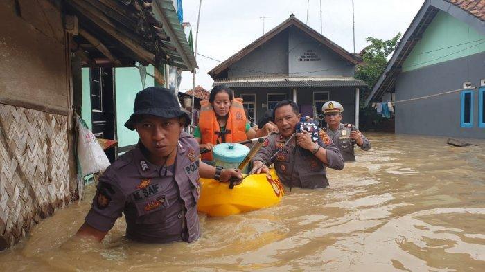 Banjir di Pantura Subang, 1.200 Orang Mengungsi