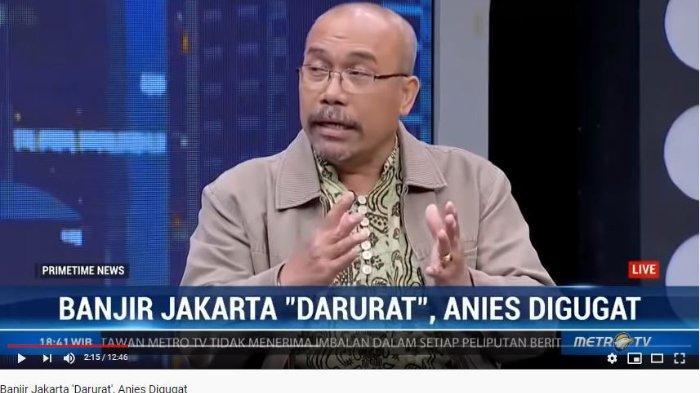 Anggota Tim Advokasi Korban Banjir Jakarta Azas Tigor Nainggolan menyebut pihak Anies Baswedan terancam harus membayar ganti rugi senilai Rp 1 triliun.