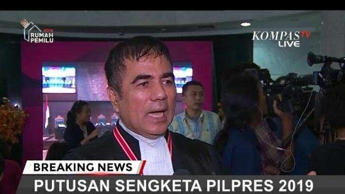 Tim Kuasa Hukum 02 Sebut Prabowo Marah Karena Disebut Lapang Dada Menerima Putusan MK