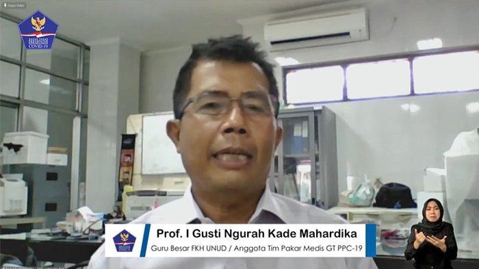Anggota Tim Pakar Medis Gugus Tugas Nasional I Gusti Ngurah Kade, Mahardika