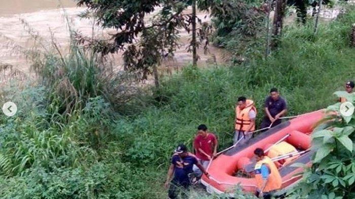 Tiga Warga Hanyut Ditelan Banjir Pangkalan Koto Baru Limapuluh Kota