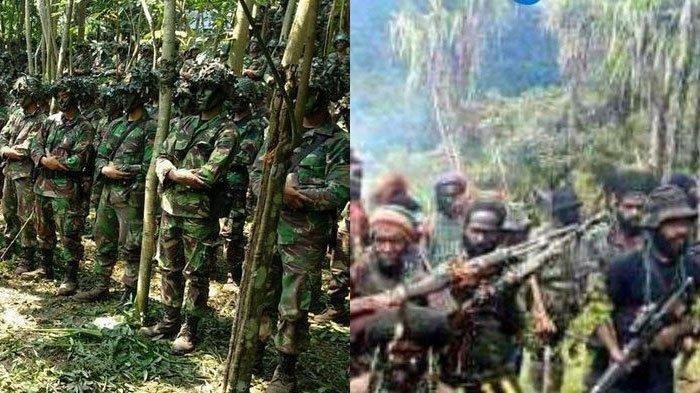Ilustrasi: Kronologi Prajurit TNI Diserang KKB Papua Saat Sedang Shalat -