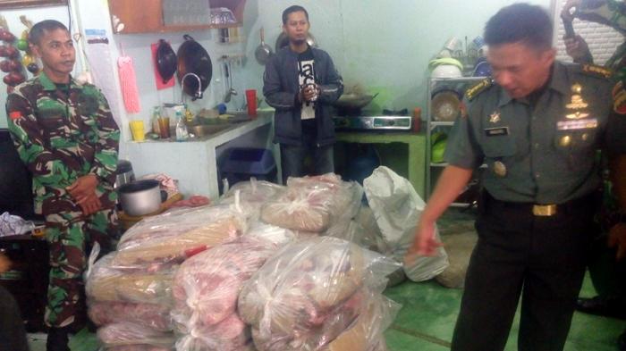 Kasdam I Bukit Barisan Tips Membedakan Daging Ilegal di Pasaran