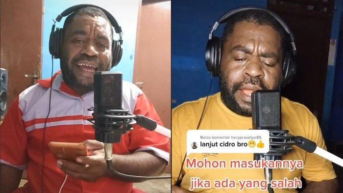 VIRAL TikTok Guru asal Papua Nyanyikan Lagu Didi Kempot dan Lagu dari Berbagai Daerah di Indonesia