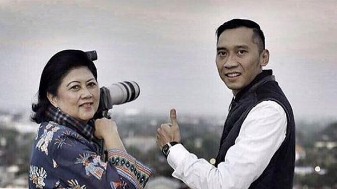 Ibas Yudhoyono Datangi Penjual Martabak Langganan Ani Yudhoyono, Kenang Sang Ibu