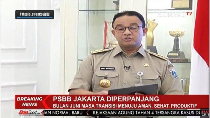 PSBB di DKI Jakarta Diperpanjang, Warga Diminta Berdiam di Rumah, Kegiatan Ekonomi Masih Tutup