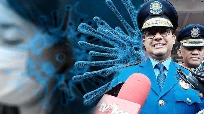 Gubernur Jakarta Anies Baswedan dan problem virus corona