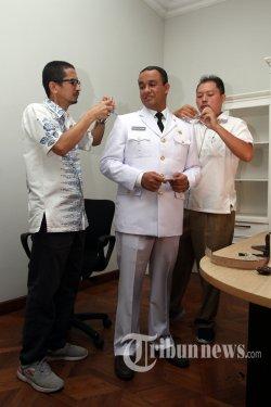 Bakal Dilantik Jokowi, Anies Baswedan 'Deg-degan'