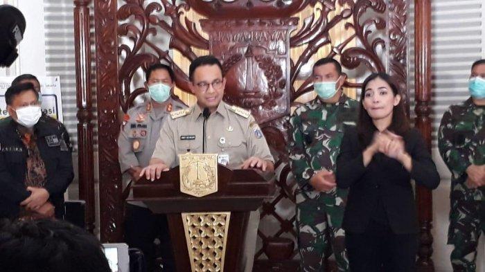 Gubernur Anies Baswedan Terbitkan Pergub Soal PSBB, Ada 6 Hal yang Dibatasi