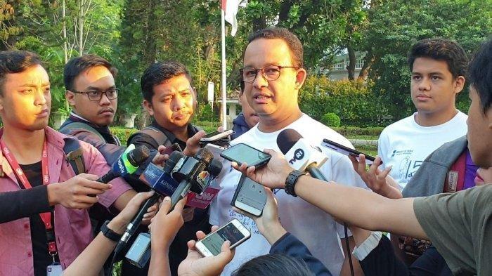 Gubernur Anies saat ditemui di rumah dinasnya di kawasan Taman Suropati, Menteng, Jakarta Pusat, Rabu (31/7/2019)