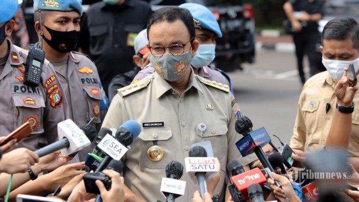 Setelah Wagub Riza Patria, Gubenur DKI Jakarta Anies Baswedan Kini Positif Covid-19