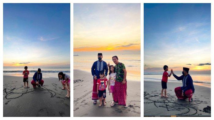 Momen Anies Baswedan Nikmati Waktu di Pantai, Kagum Lihat Ayah Ajak Anak Bermain Selepas Subuh