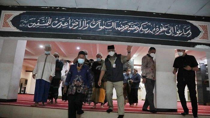 Salat Subuh di Masjid Nurul Abrar, Anies Baswedan Cerita Asal Usul Nama Mangga Dua
