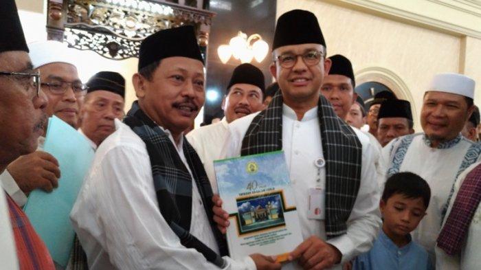 Gubernur DKI Resmikan Masjid Di Pinggiran Jakarta-Tangerang, Penuhi Janji 1,5 Tahun Lalu