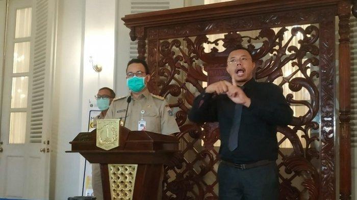 Bicara soal Pemakaman 283 Jenazah di DKI, Suara Anies Baswedan Bergetar
