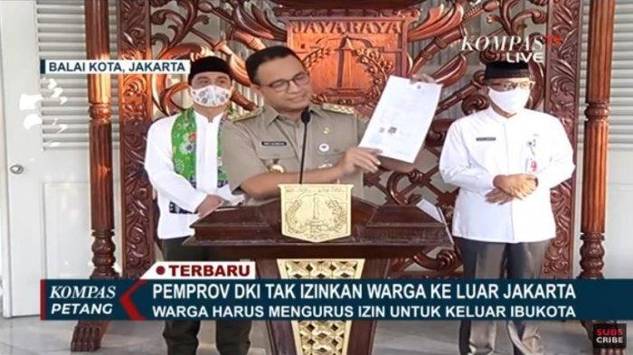 Login Www Corona Jakarta Go Id Daftar Surat Izin Keluar Masuk Jakarta Sikm Mulai Jumat 22 Mei 2020 Tribunnews Com Mobile
