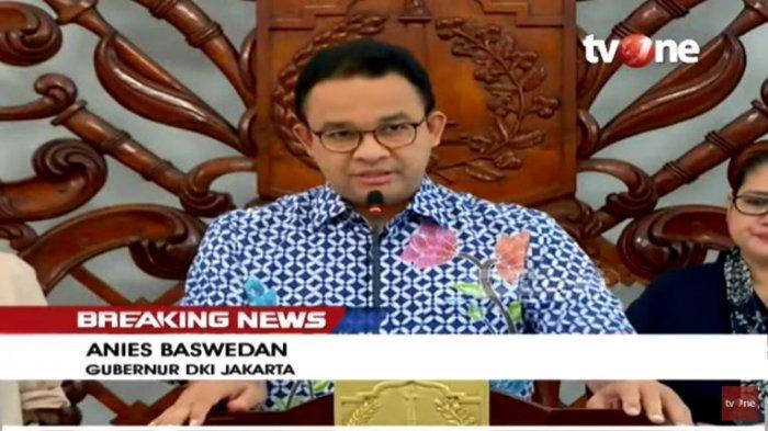 Anies Baswedan umumkan tujuh kebijakan dalam tangani Corona di Jakarta.