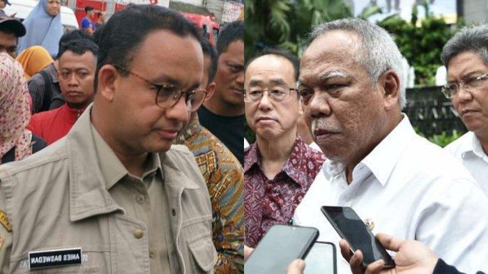 Sindiran Menteri PUPR untuk Anies Baswedan setelah Temukan Fakta Baru Banjir di Sungai Ciliwung