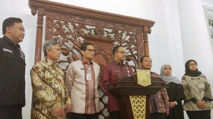 Datangi Balai Kota, Ketua KPU DKI Lapor Anies Soal Pelaksanaan Pilkada 2017