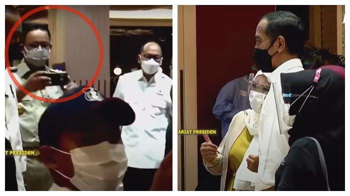 Potret Warga Bersama Presiden Jokowi, Momen Spontan Anies Baswedan Jadi Fotografer Dadakan
