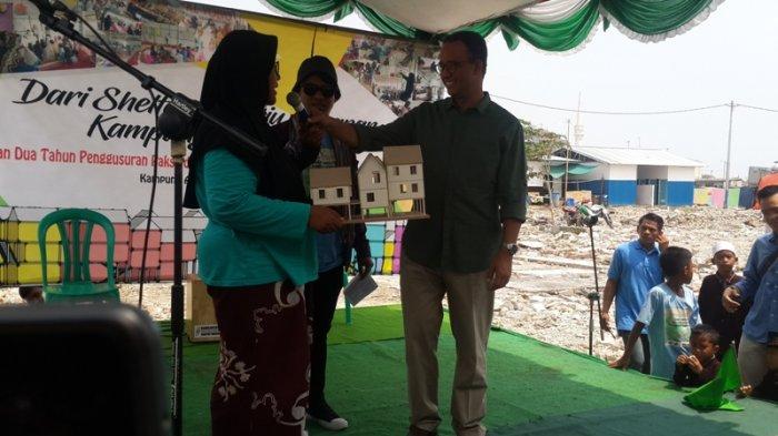 Anies Menghadiri Acara Peringatan Dua Tahun Penggusuran Kampung Akuarium