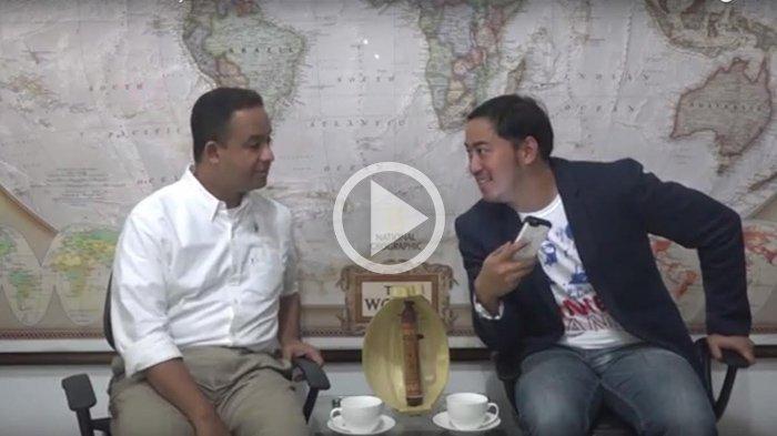 Posting Soal Lem Aibon, Pandji Pragiwaksono Dituding Sindir Anies Baswedan, Ini Pembelaannya