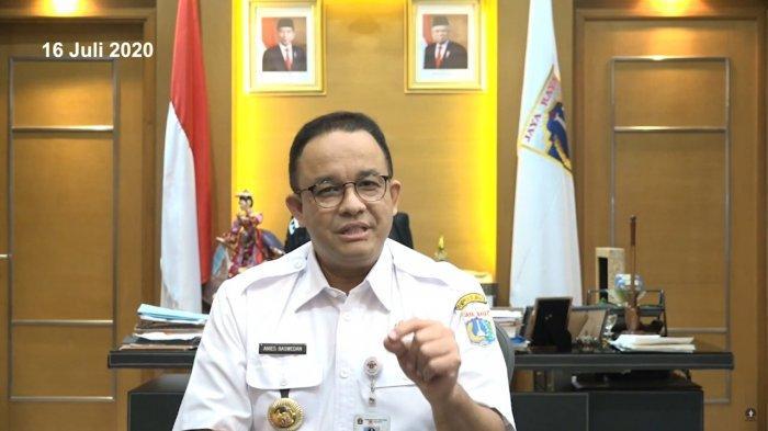 Anies Putuskan PSBB Total Seperti Awal Wabah, Tanggapan Menteri Jokowi hingga Disebut Tak Perlu Izin