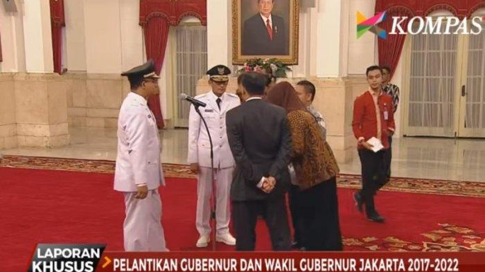 Anies-Sandi Ikuti Gladi Resik Pelantikan Gubernur dan Wakil Gubernur DKI