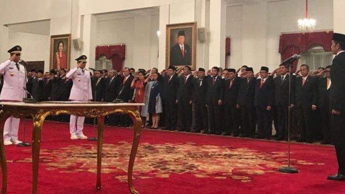 Apa Wejangan Jokowi ke Anies Usai Pelantikan Gubernur DKI ?
