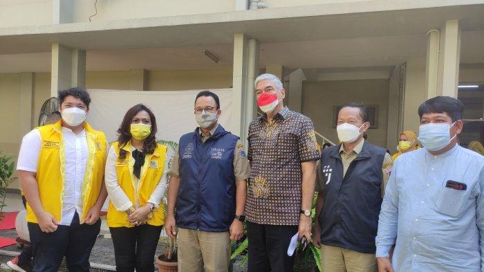 Gubernur Anies Dukung Vaksinasi Pfizer Gratis Inisiasi DPD Golkar Jaksel