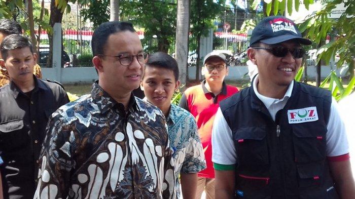 Anies Ancam Beri Sanksi Sopir Bus TransJakarta yang Tabrak Separator