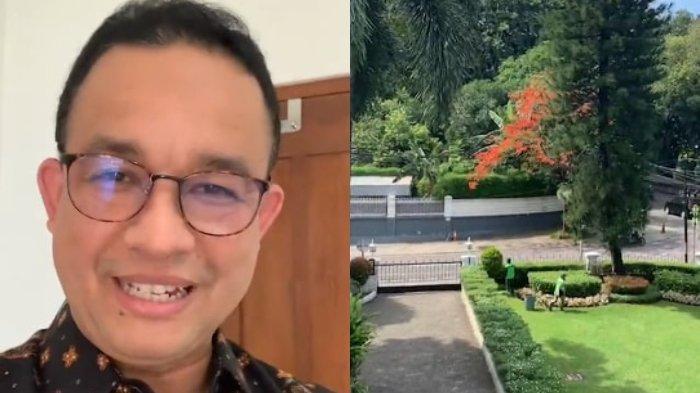 Gubernur DKI Jakarta, Anies Baswedan mengabarkan kegiatannya menjalani isolasi mandiri di rumah dinas, Menteng, Jakarta Pusat, Rabu (2/12/2020).