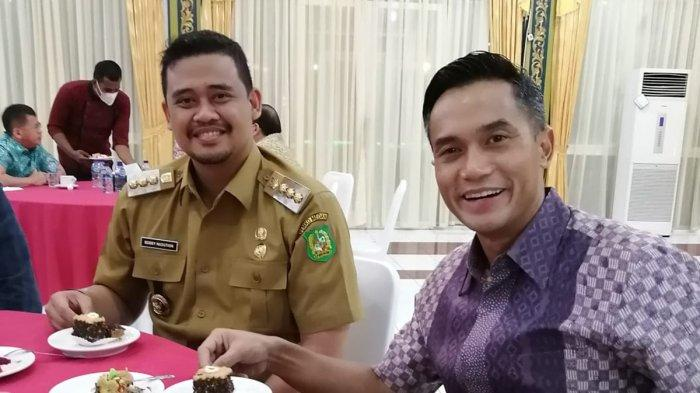 Bertemu dengan Bobby Afif Nasution, Anindya Bahas soal Pembangunan Kota Medan hingga Kadin