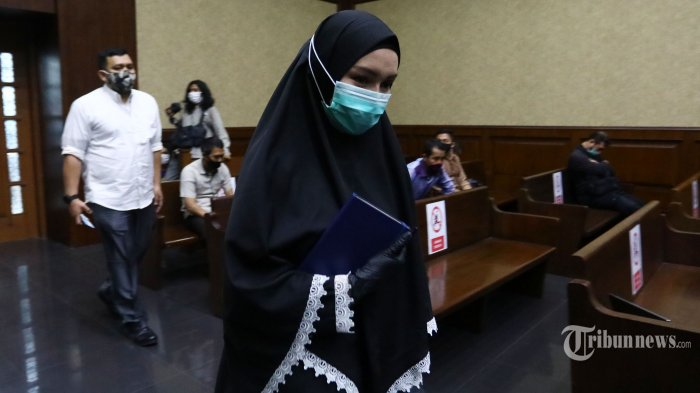 Bersaksi di Sidang Andi Irfan Jaya, Pinangki Kembali Minta Ubah BAP